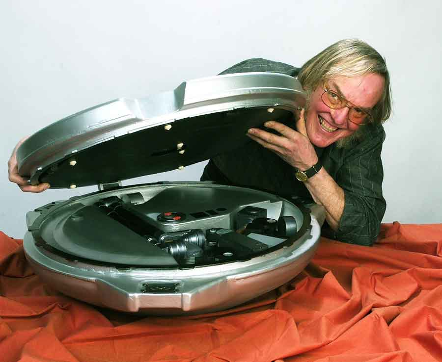 Colin Pillinger; Credit: Beagle 2 Project