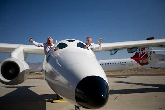 Rutan und Branson; Credit: Wired