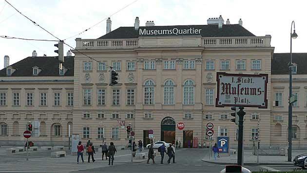 MuseumsQuartier - Haupteingang