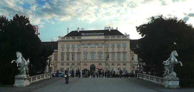MuseumsQuartier Wien, Haupteingang
