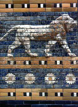 Detail des Ishtar-Tores; Credit: Wikipedia