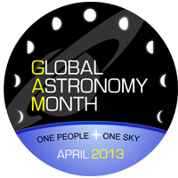 Astronomers without Borders - GAM - Global Astronomy Month