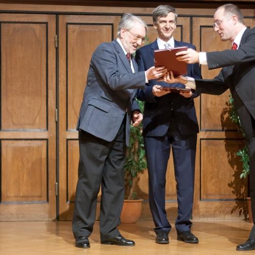Pplarsternpreis an Otto Koudelka und Werner Weiss